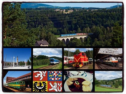 Cseh vonatok mozaik