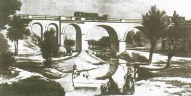 Lóvasúti híd Báhonynál