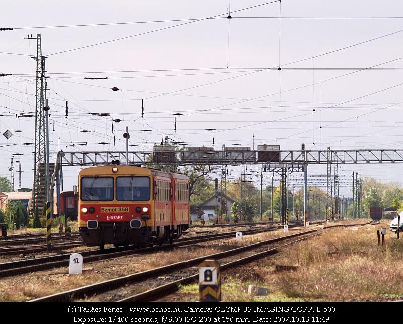 Bzmot 358 Debrecenbe érkezik fotó