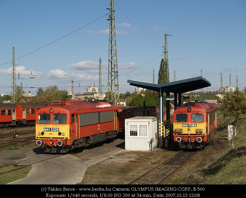 The M41 2326 and the classical 2185 at Debrecen photo