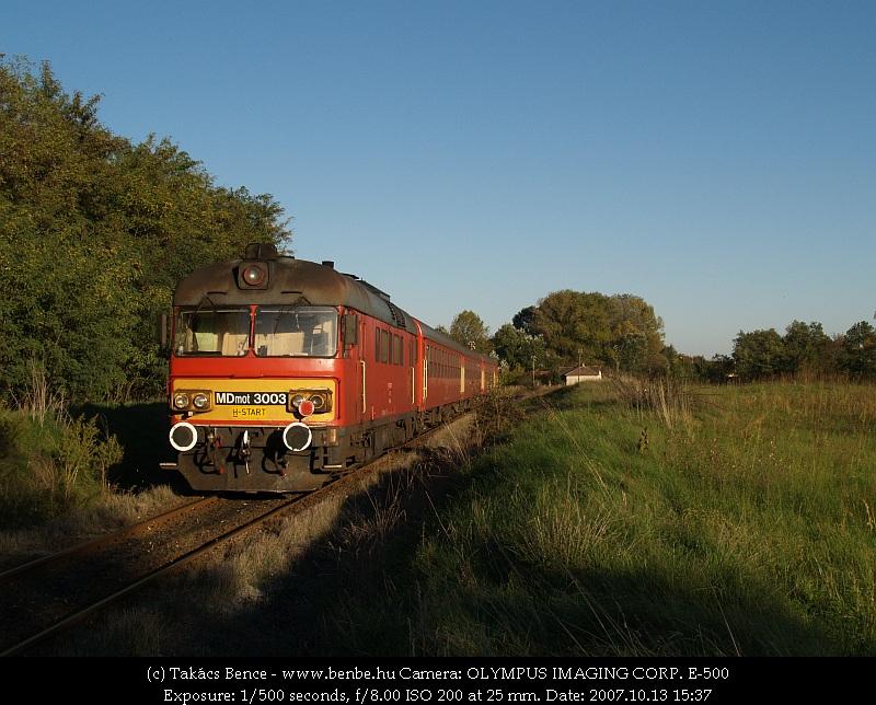 MDmot 3003 Hajdúbagos közelében fotó