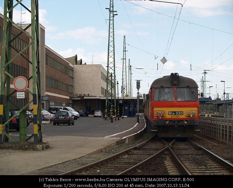 Btx 030 Debrecen állomáson fotó