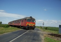 Btx 028 with and MDmot train near Nagykereki