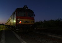 Btx 027 at Nagykereki by night