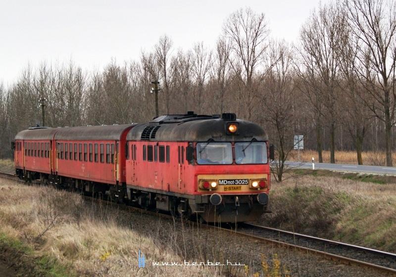 MDmot 3025 Derecske és Sáránd között fotó