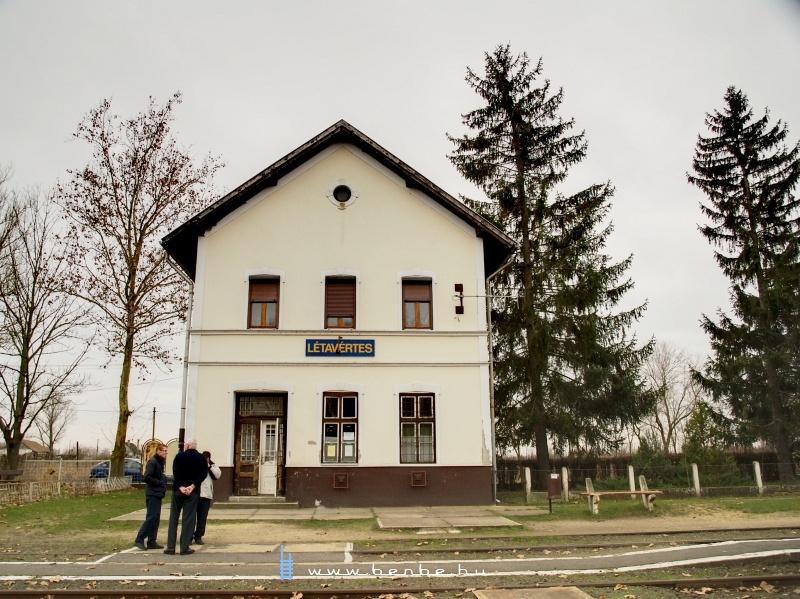 Létavértes átalakított, III. osztályú HÉV felvételi épülete fotó