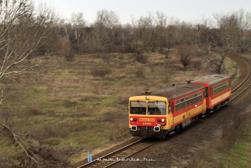Bzmot 352 Debrecen és Tócóvölgy között fotó