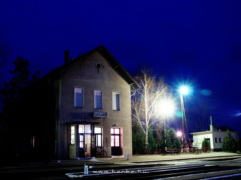 Sáránd vasútállomás fotó