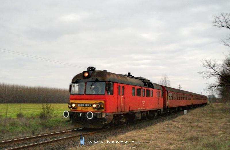 MDmot 3003 rogtön Hajdúbagos megálló után fotó