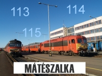 English:      113, 114, 115: Secondary lines around M�t�szalka