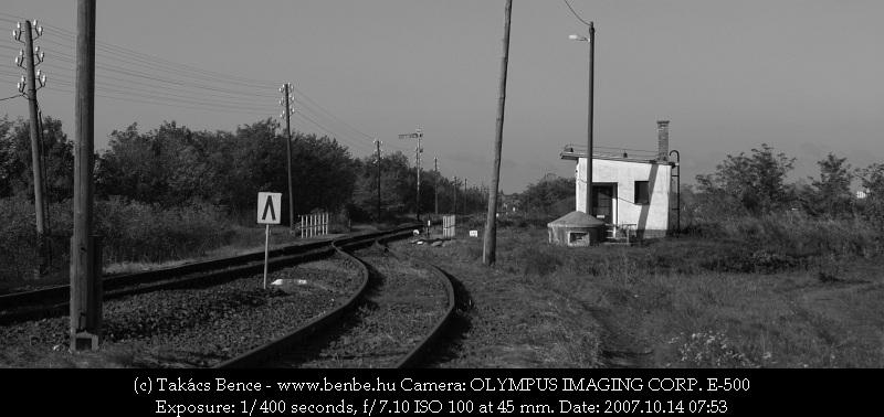 Kocsord alsó állomás váltókörzete fotó