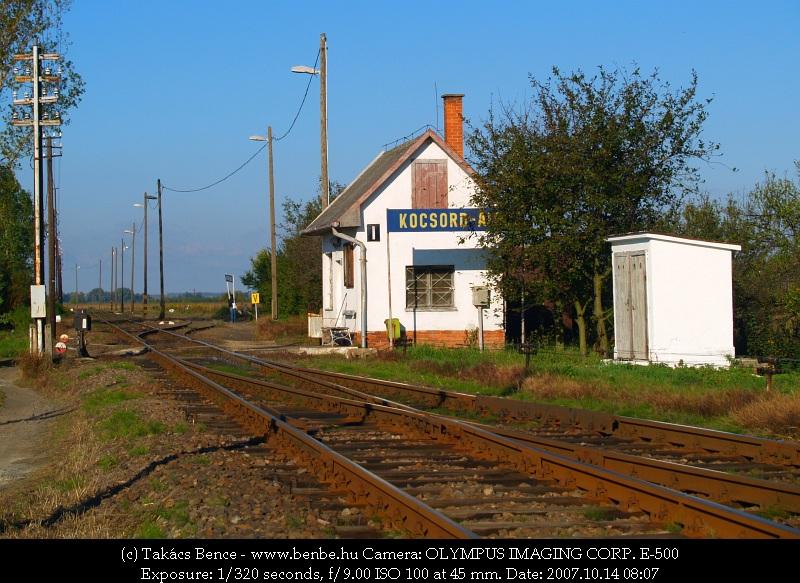 Kocsord alsó állomás látképe fotó