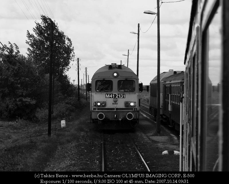 M41 2131 Kocsord alsón fotó