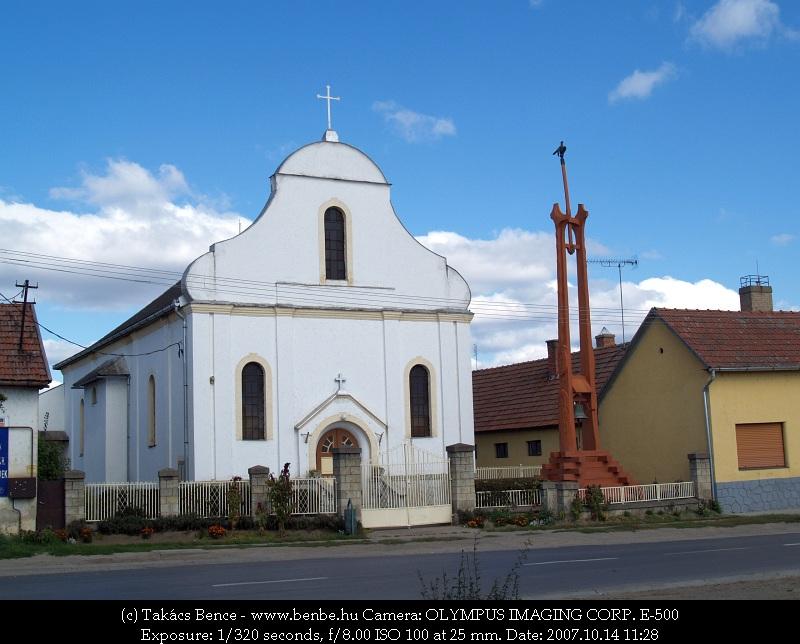 A nagyecsedi római katolikus templom fotó