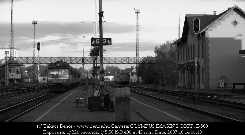 MDmot 3020 Debrecen felé indul Mátészalkáról fotó