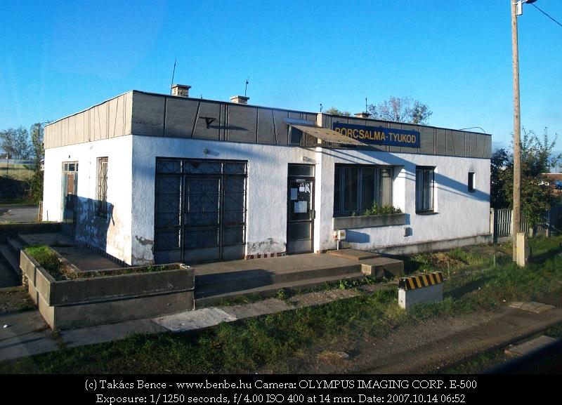 Porcsalma-Tyukod állomás fotó