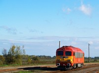 The M41 2153 shunting at Feh�rgyarmat