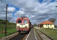 The M41 2162 at Tiborszállás