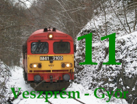Photos from the Veszpr�m - Győ railway