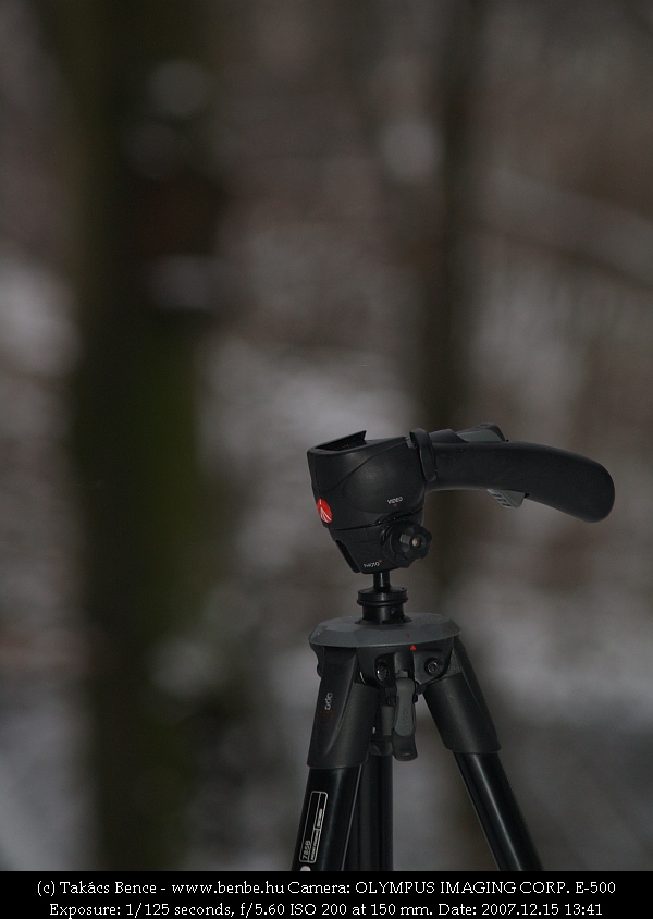 Egy pisztoly vagy egy fotóállvány? fotó