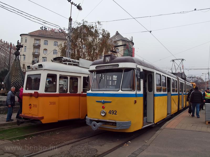 A DKV 492-es nosztalgiavill fotó