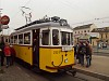 The BKV Füzes steel chassis historic tramcar number 2624 at <q>Kalef</q>