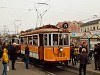 The BKV 436 historic tram at Széll Kálmán tér