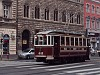 Historic tram car number 611