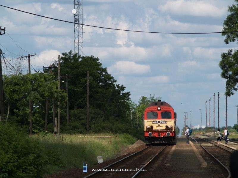 M41 2103 Székkutason fotó