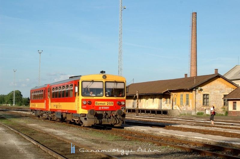 Bzmot 259 érkezik Orosházára fotó