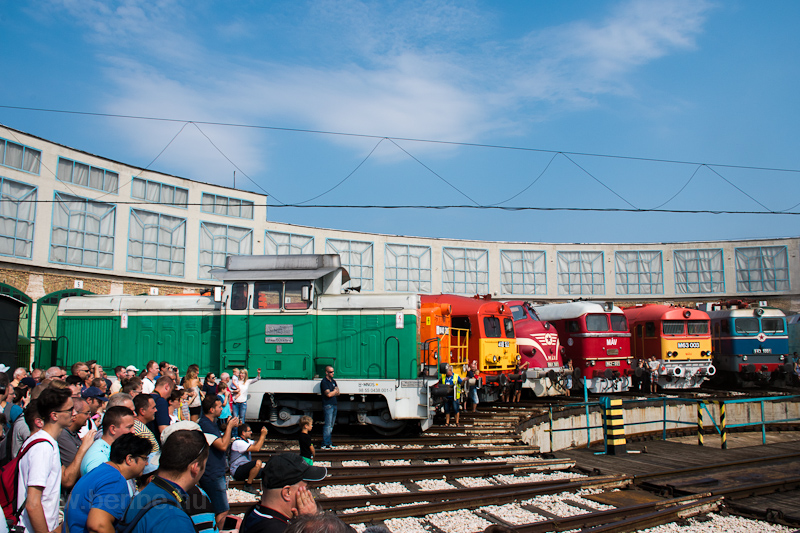 Diesels at the depot photo