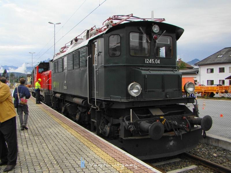 A 1245.04 pályaszámú mozdony is vendégszerepelt Wörglben fotó