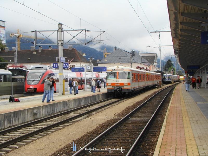 A müncheni S-Bahn 420 501-9 pályaszámú motorvonata Wörglben fotó