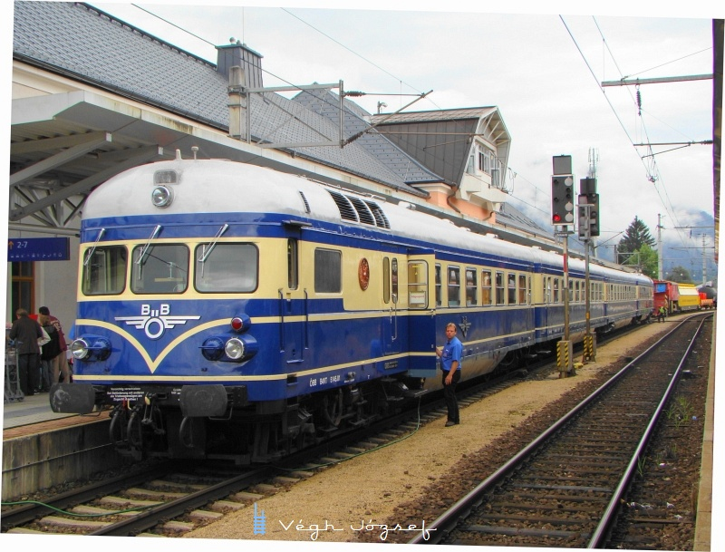 Blauer Blitz (5145) a wörgli pályaudvaron fotó