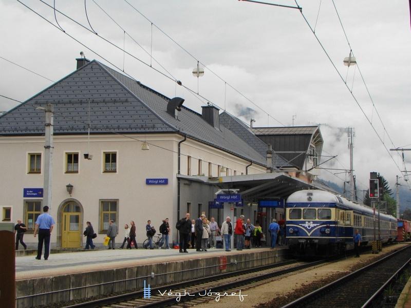 Blauer Blitz Wörgl állomáson