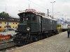 Az ÖBB 1245.04 pályaszámú mozdona Wörglben