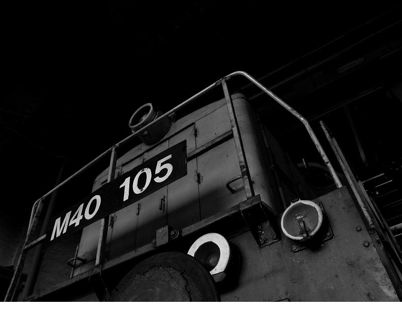 M40 105 Nagykanizsán a körfûtõházban fotó