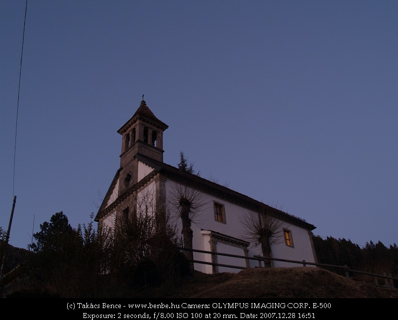 Templom Ravascelttoban fotó