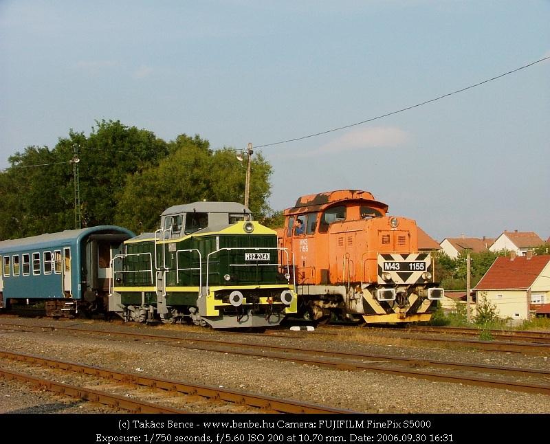 M43 1155 és M32 2040 Diósjenõn fotó
