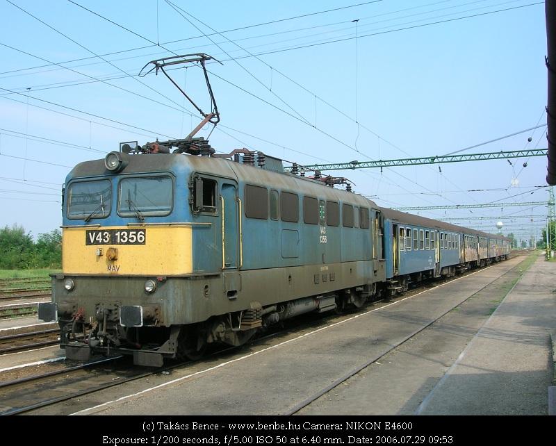 V43 1356 Kunszentmiklós-Tasson fotó
