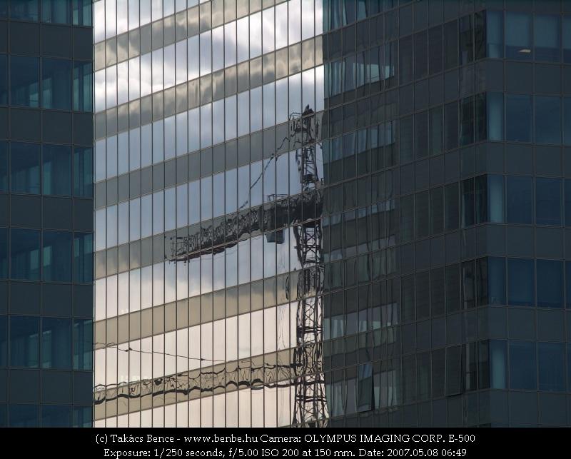 A Duna Tower irodaház fotó