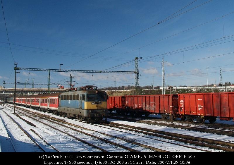 V43 1150 Nagytétény-Diósd állomáson fotó