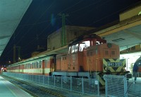 The M43 1023 is shunting at Gy�r