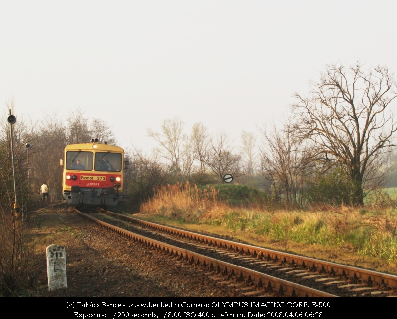 Bzmot 373 érkezik Csajágra fotó