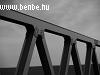 Az új híd egy részlete