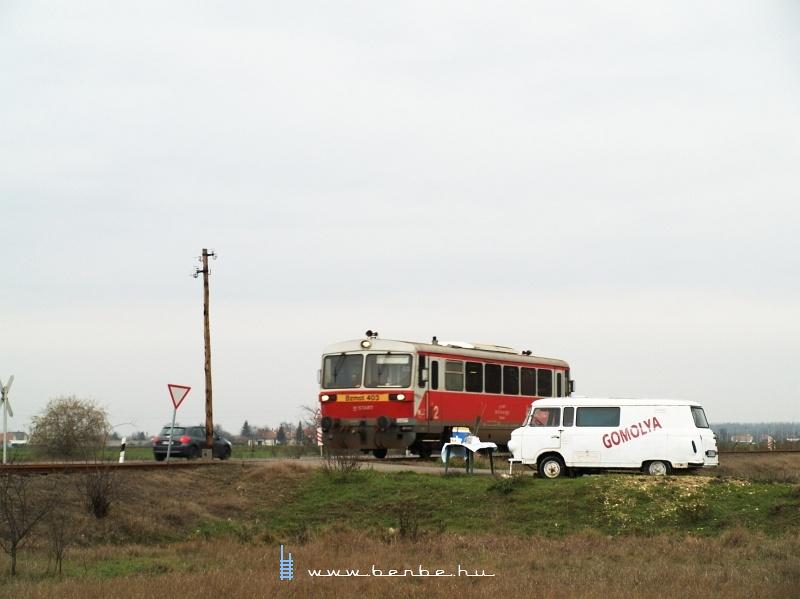 Bzmot 403 Újtikos és Polgár között fotó