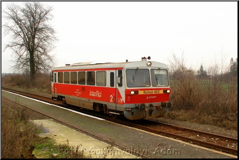 Bzmot 403 Tiszadadán fotó