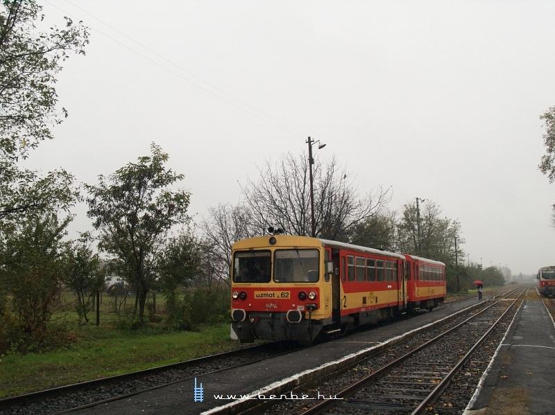 Bzmot 262 Tiszalök állomáson fotó
