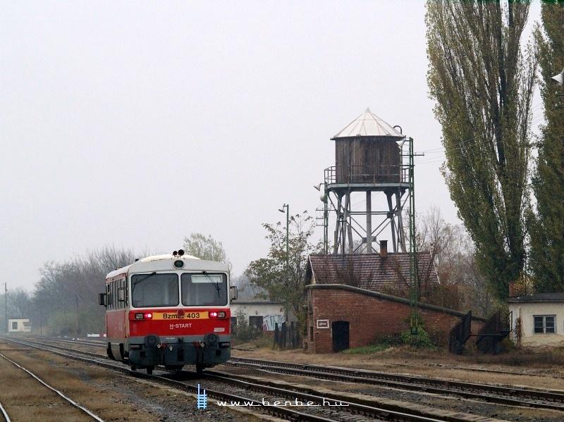 Bzmot 403 Tiszalök állomáson fotó