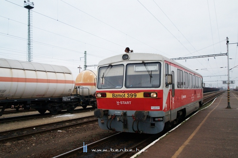 Bzmot 399 érkezik Tiszaújvárosba fotó